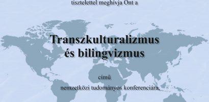Transzkulturalizmus és bilingvizmus