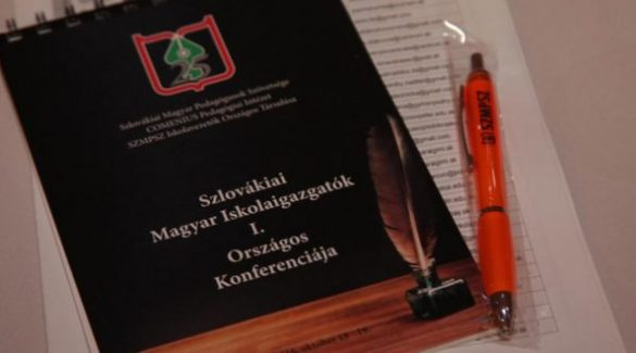 Nagymegyeren lesz a magyar iskolaigazgatók országos konferenciája