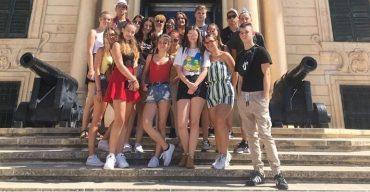 Négyhetes máltai szakképzésen vettek részt a komáromi diákok