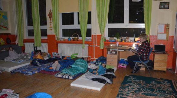 Andersen-éjszaka a tejfalusi iskolában