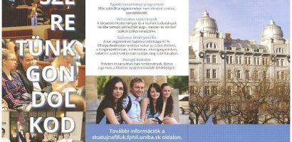 Nyílt nap a Comenius Egyetem magyar tanszékén