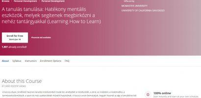A tanulás tanulása
