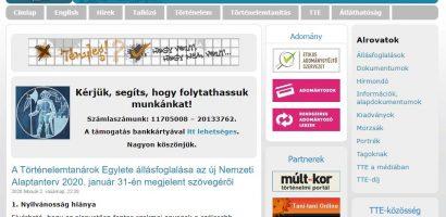 Magyarországon a Történelemtanárok Egylete is megszólalt