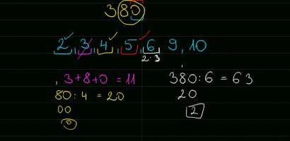 Matematika: Négyzetre emelés és többszörösök