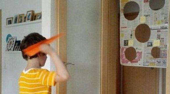 Játékötlet: Papírrepülő reptető bajnokság
