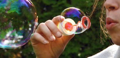 Mikor az igazi a buborékfúvás