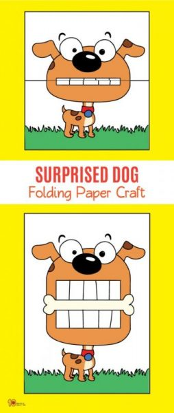 Foldable Paper Crafts 10 Surprise Expressions Pinterest Paper Crafts Paper