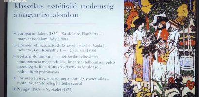 Irodalom – Stílusirányzatok: a klasszicizmustól a későmodernitásig
