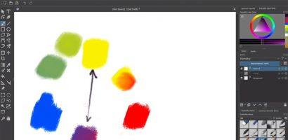 Krita – színkeverés
