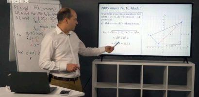 Matematika – Koordinátageometria (kör és köregyenletek)