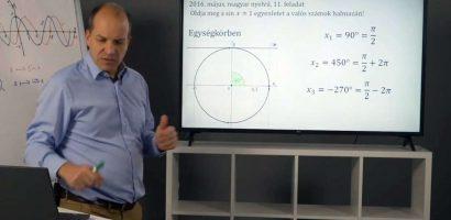 Matematika – Trigonomtria általánosítva