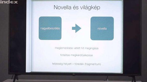 Magyar nyelv, irodalom – Novellaelemzés