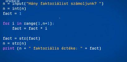 Kódolás 3. – Belevetjük magunkat a programozásba