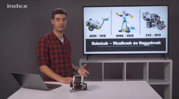 Robotika 1. – Mire jó a legórobot?