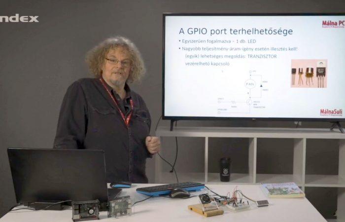 Informatika – Ventillátor a Raspberry-n