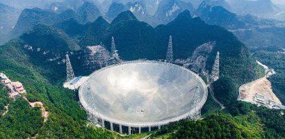 Kína beveti az 500 méter átmérőjű teleszkópját