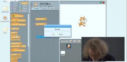Informatika – Raspberry Pi programozása Scratch környezetben