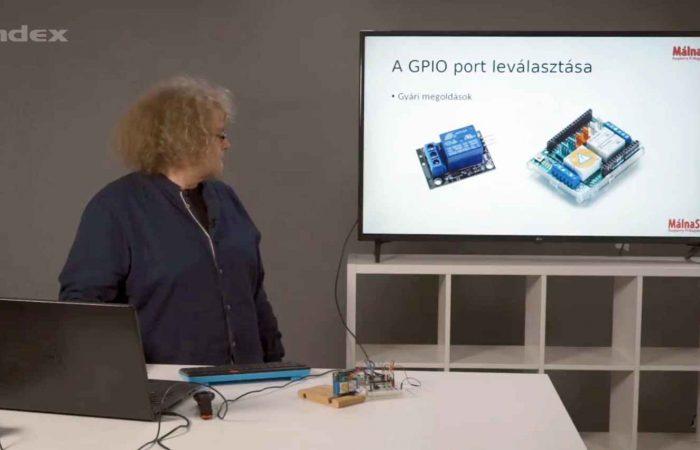 Informatika – A Raspberry grafikus vezérlése