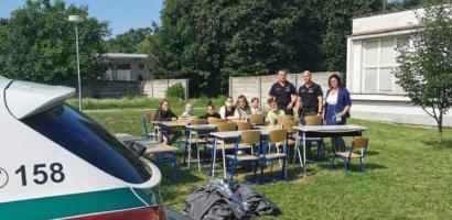 Ellopták a pavilont a légi iskolaudvarról – a rendőrök gyorsan megtalálták