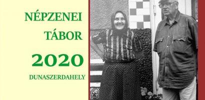 XV. Népzenei tábor – felhívás, 2020