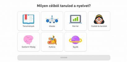 Ingyenes alkalmazások a nyelvtanuláshoz