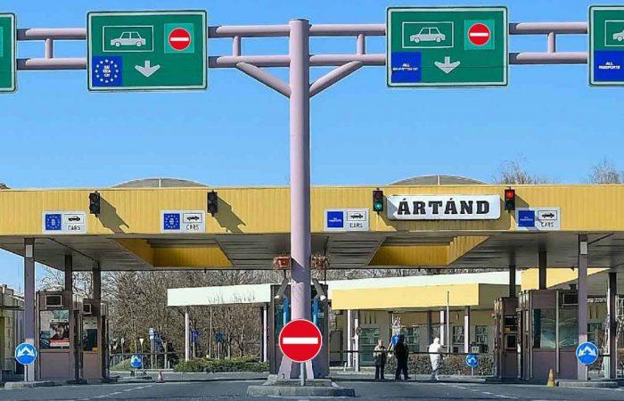 Újra zárulnak Magyarország határai