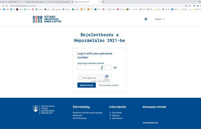 Elektronikus népszámlálás 2021