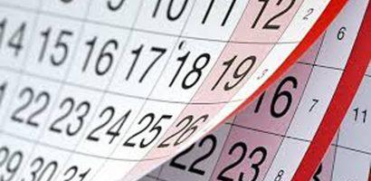 Iskolai naptár 2020/2021