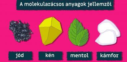 e-learning ● Molekularácsos anyagok