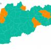 Súlyosbodott a helyzet több déli járásban, az Ung-vidék vörös
