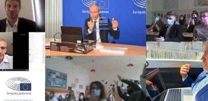 Az Európai Parlament Nagyköveti Iskolája lett a pozsonyi magyar gimnázium