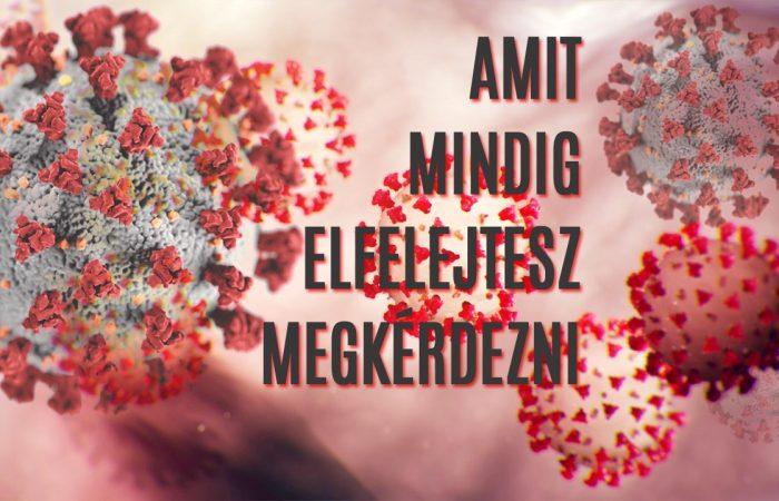 Mutatjuk, milyen egy COVID-19 fertőzés lefolyása