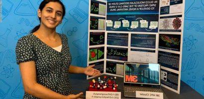 14 éves lány találmánya járulhat hozzá a koronavírus legyőzéséhez