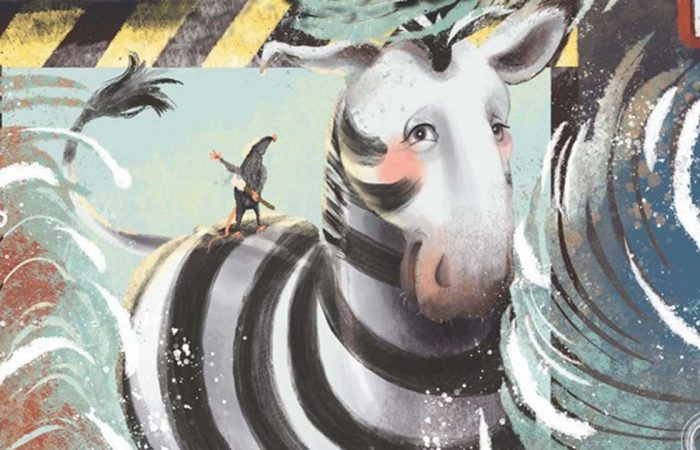 Fellinger Károly: Zebra az autómosóban
