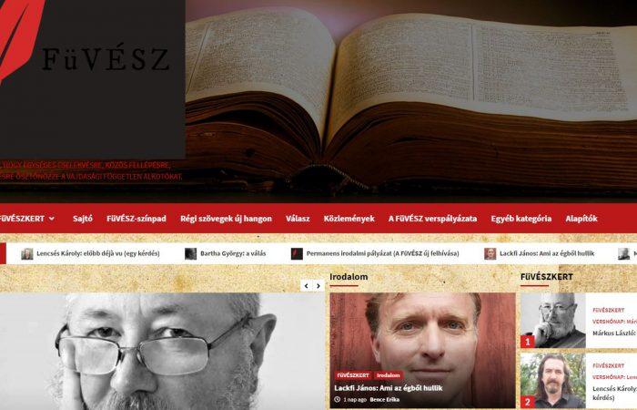Permanens irodalmi pályázat (A FüVÉSZ új felhívása)