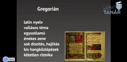 Ének-zene – A középkor zenéje