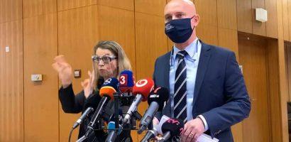 Branislav Gröhling oktatásügyi miniszter a kormányülés után tájékoztatta a sajtót