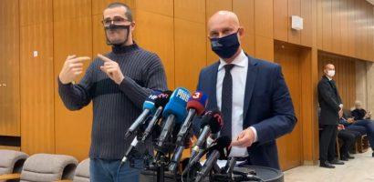 Branislav Gröhling sajtótájékoztatója a mai kormányülés után
