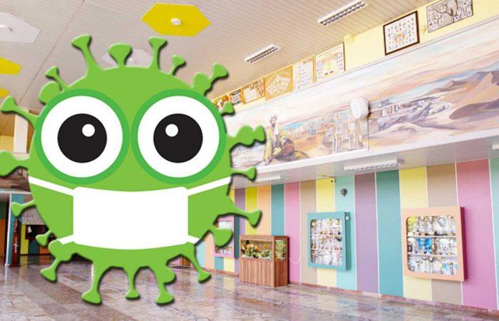 A dunaszerdahelyi iskolákban is sorra jelenik meg a koronavírus