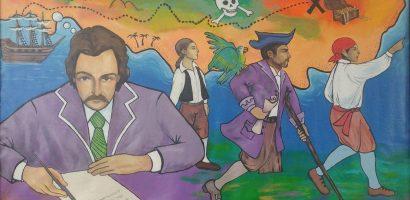 A Kincses sziget írója gyermekverseket is alkotott