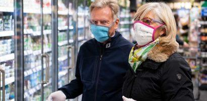 A maszkviseléssel csökkenthető a szervezetbe jutó vírus mennyisége