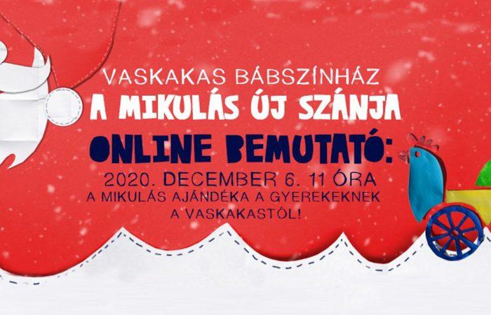 A Mikulás új szánja – online bemutató holnap!