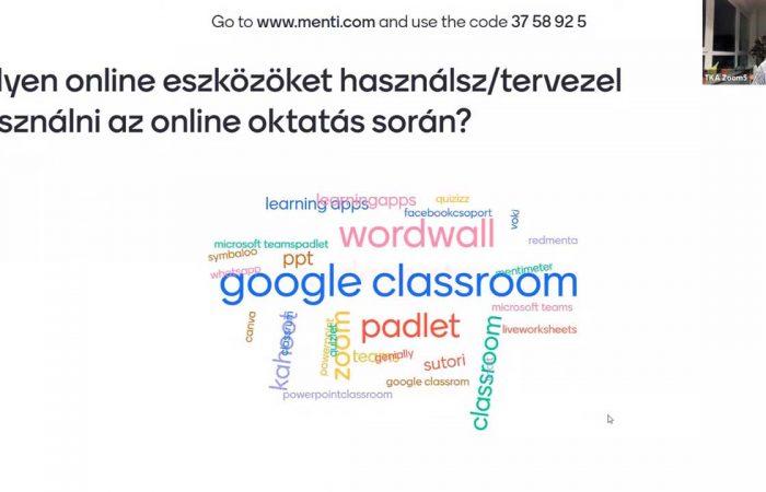Óravezetés a digitális oktatási rend idején