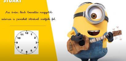 Matematika 3. osztály – Az óra