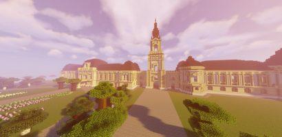 Minecraftban építette meg a Festetics-kastélyt egy egyetemista