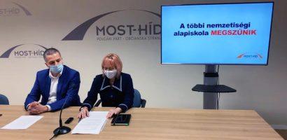 Iskolaügyekben tartott sajtótájékoztatót a HÍD