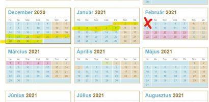Február 1-jén nem lesz félévi szünet
