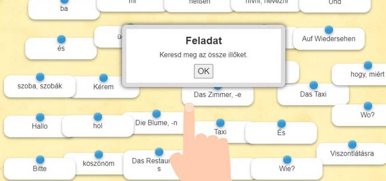 Német nyelv – szópárosító