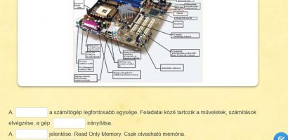 Informatika – A számítógép belső felépítése I.
