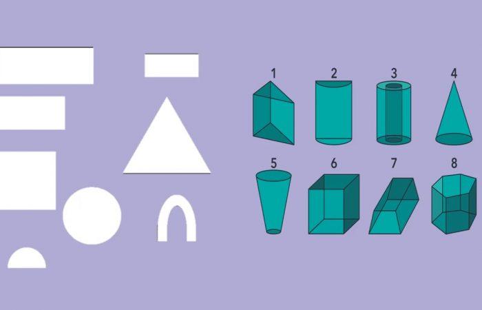Matematika 3. osztály – Testek bevezetése